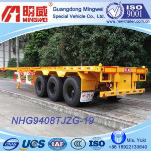 3 Axles Container Transport Semi Trailer (NHG9408TJZG-19G)