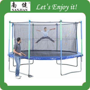 14 Ft Round Trampoline for Children Folding Trampoline pictures & photos