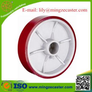 American Type Polyurethane Aluminum Core Wheel pictures & photos