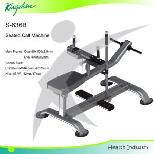 Fitness Body Building Machine Exercise Equipment Seated Calf pictures & photos