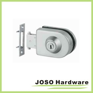 Glass to Wall Glass Fitting Framless Door Furniture Lock (GDL004A) pictures & photos