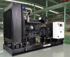 Original Shanghai Diesel Powered Generator Sets/250kVA/200kw with ISO9001/ISO14001 pictures & photos