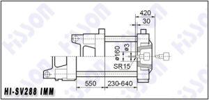 Servo Motor Injection Moulding Machine 288t Hi-Sv288 pictures & photos