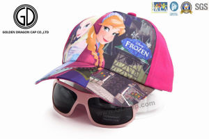 Custom OEM Printed Kids Hat Children Baseball Cap with Sunglasses pictures & photos