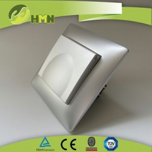 V Series Silver Color Dust Cap Schuko Socket Manufacturer Socket Switch pictures & photos