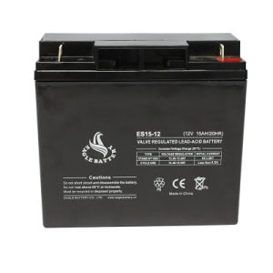 Mf 12V 15ah Rechargeable VRLA AGM Sealed Lead Acid Battery