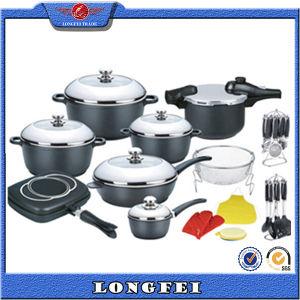 Aluminum Non-Stick Die Casting Aluminum Cookware pictures & photos