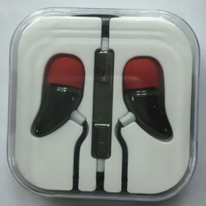 Gift Promotions Plastic Hot Pepper Stereo Earphone for Mobile Phone pictures & photos