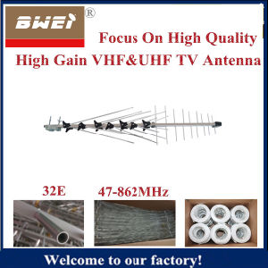 Supply OEM Service for Outdoor TV Antenna with 32 Elements pictures & photos