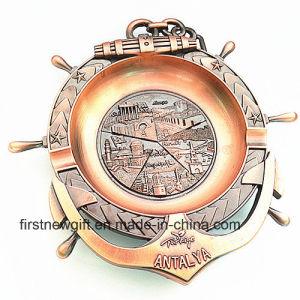 Antalya Souvenir Gifts Customized 3D Engrave Logo Metal Ashtray (B5006) pictures & photos