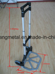 Aluminum Folding Hand Truck with Two Wheel pictures & photos