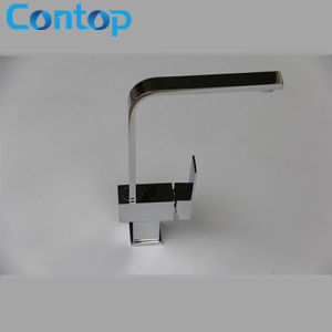 Quality Solid Brass Watermark&Wels Square Kitchen Faucet pictures & photos