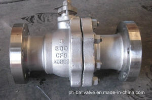 ANSI 600lb Floating Type 600lb Stainless Steel Ball Valve