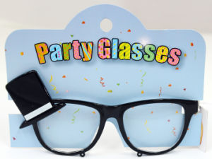 Party Glasses with Black Hat
