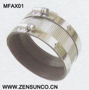 Galvanized Steel Hose Clamp High Quality Type a Coupling pictures & photos