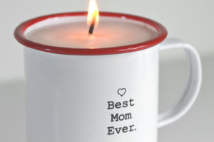 Painting Clear Glass Scented Soy Candle pictures & photos