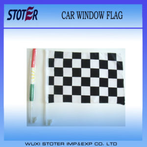 Hot Selling Window Car Flag with Pole