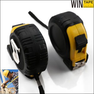 ABS Case Magnetic Stanley Power Return 5m Steel Tape Measure (RUT-019) pictures & photos