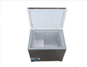 Outdoor Portable DC Compressor Refrigerator 45liter DC12/24V with Acadaptor (100-240V) pictures & photos