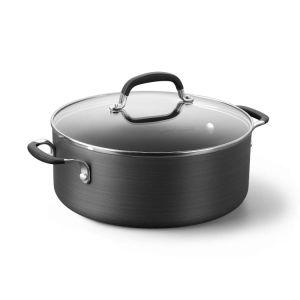 Amazon Vendor Hard Anodized Nonstick Saucepot 5 Qt Chili Pot pictures & photos