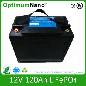 Deep Cycle LiFePO4 12V 120ah Battery for Camper Van pictures & photos