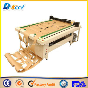 Oscillating Flatbed Pattern Making Plotter Garment Cutting Plotter Machine pictures & photos