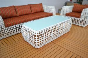 Luxury Big Round Wicker Indoor Outdoor Sofa Set pictures & photos