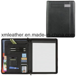 Office Supply Stationery File Folder, Leather Document Holder pictures & photos