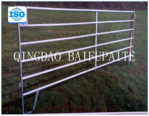 Galvanized Cattle Yard Fence Panel Horse Hurdles pictures & photos