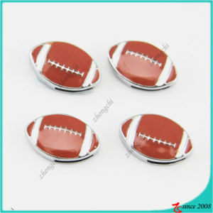 Enamel Football Slide Charms Wholesale pictures & photos