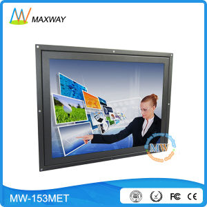 15 Inch Touch Screen LCD Monitor with Infrared/Saw/Resistive/Capacitive Optional (MW-153MET) pictures & photos