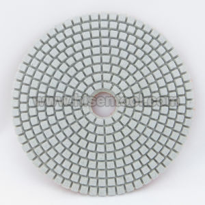 White Polishing Pads for Engineer Stone pictures & photos