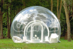 Inflatable Transparent Door Outdoor Tent for Sale (CHT221) pictures & photos