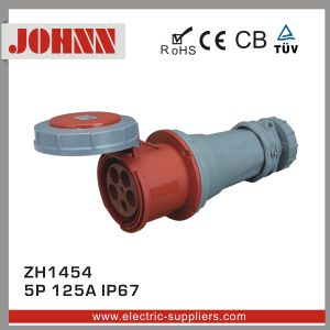 IP67 5p 125A Connector for Industrial with Ce Certification pictures & photos