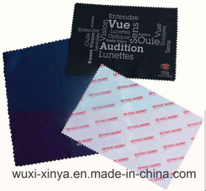 Silk Screen Printing Microfiber Lens Cleaning Cloth
