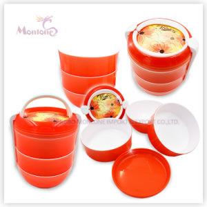 PP Food Container, Round Plastic Lunch Box pictures & photos