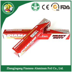 Diamond Quality Aluminum Foil Roll pictures & photos