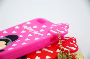 Lovely DOT Mickey Silicone Mobile Phone Case for Huawei P9 P8 P9lite J2 Prime (XSD-014) pictures & photos