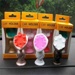 Dashboard Silicone Rubber Vacuum Mobile Phone Stand Car Holder for GPS pictures & photos