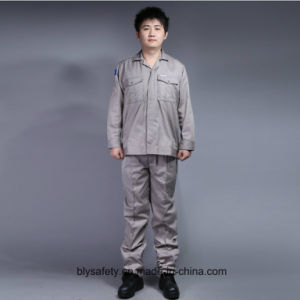 65% Polyester 35%Cotton Long Sleeve Safety Workwear Suit (BLY2002) pictures & photos