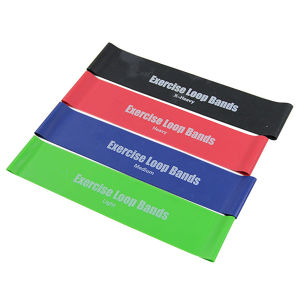 Durable Resistance Loop Bands with Custom Printed Logo for Promotion pictures & photos