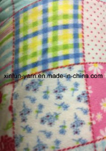 100% Polyester Heavy Polar Fleece Fabric for Blanket/Shoes pictures & photos