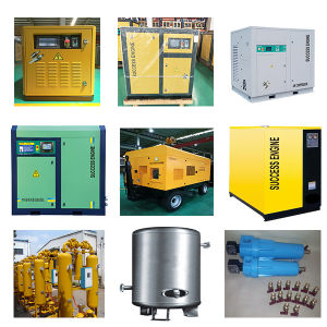 132kW 180HP Direct Drive Rotary Screw Air Compressor (SE132A(W)) pictures & photos