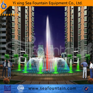 Stainless Net Multimedia Musical Interactive Floor Slate Fountain pictures & photos