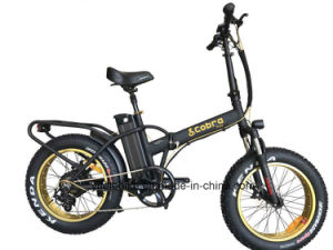 Big Tire High Speed 20′inch Folding Electric Bicycle pictures & photos
