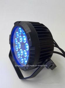 18PCS X10W RGBW IP65 RGBW Wriess LED PAR Light Outdoor Light pictures & photos