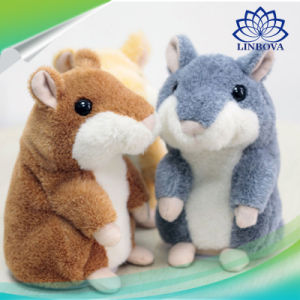 Russian Talking Hamster Pet Electronic Interactive Speaking Record Plush Stuffed Toys for Baby Children pictures & photos