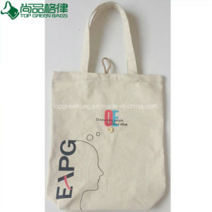 Heavy Duty Canvas Shopping Tote Cotton Bag (TP-SP545) pictures & photos