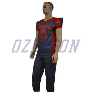 2017 Latest Custom Sublimation Printing Design American Football Jerseys pictures & photos