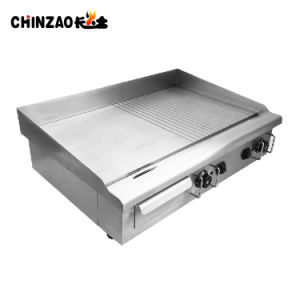 Stainless Steel Counter Top Electric Griddle pictures & photos